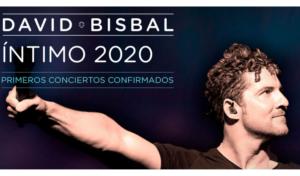 David Bisbal anuncia gira ÍNTIMO 2020