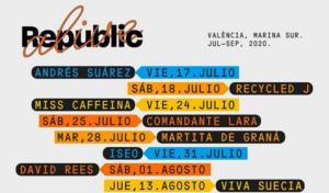 Se anuncian los conciertos en Valencia del 'Viva La Vida Festival'