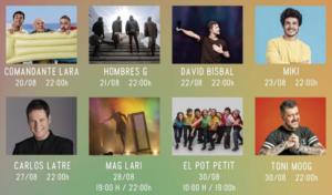 'Girona White Festival', el festival que acoge música y espectáculo este agosto