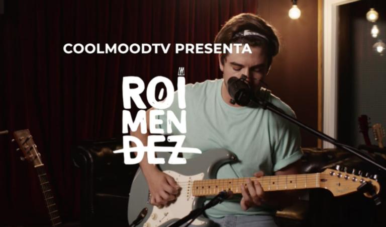 Roi Méndez despega su 'Aviones de Papel Tour 2.0' desde casa, en Cool Mood TV