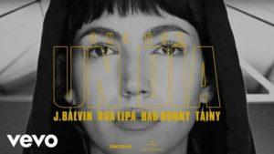 Úrsula Corberó pone cara a 'One Day', la colaboración de Dua Lipa con Bad Bunny, J. Balvin y Tainy