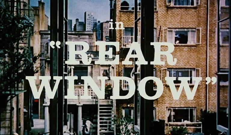 Clásicos cinefilos, 4ª parte, La ventana indiscreta
