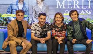 Pol Rubio vuelve: 'Merli Sapere Aude' en rodaje