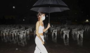 La tormenta de verano obliga a cancelar el concierto de Natalia Lacunza en Pamplona
