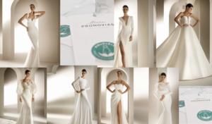 La marca 'Pronovias' se estrena en moda sostenible con la colección #WeDoEco