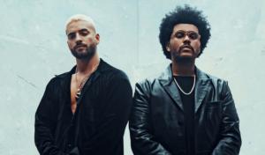 Maluma y The Weeknd en Hawaii Remix