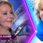 Mask Singer2: Esperanza Aguirre se encuentra bajo mariposa