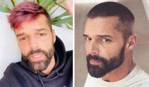 Ricky Martín se inspira en uno de sus hijos y cambia su look