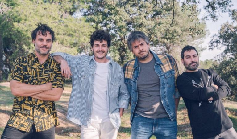 Miki Núñez junto a Despistaos en 'Viento y vida'