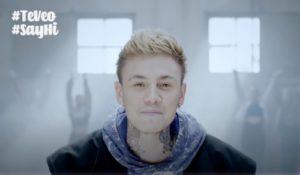 Hugo Cobo presenta el videoclip de 'Te Veo', la sintonía de la Campaña Europea de la Amistad