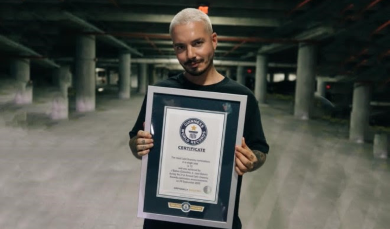 J Balvin, el artista global con más nominaciones a los LatinGammys en un año