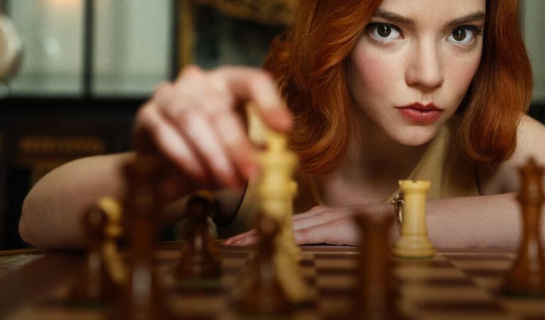 'Gambito de dama': amor por el ajedrez