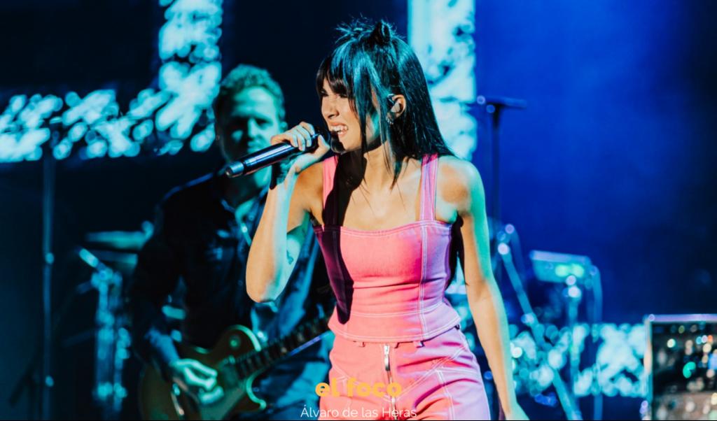 Aitana: «Nos espera un tour con mucho rock y mucha energía»
