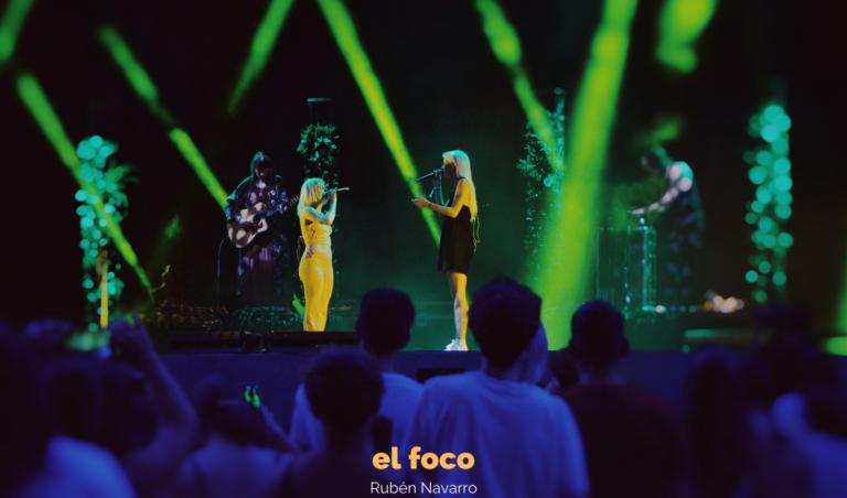 Alba Reche y Natalia Lacunza, juntas y más unidas que nunca en el Share Festival